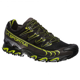 La Sportiva Ultra Raptor Running Shoes Herren black/apple green